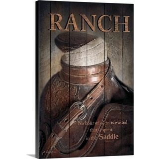 """Ranch"" Canvas Wall Art"