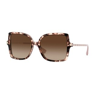Link to Valentino VA4072 509813 56 Havana Pink Woman Square Sunglasses - Tortoise Similar Items in Women's Sunglasses
