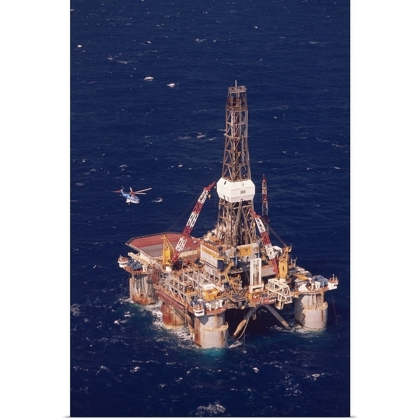 Shop Offshore Oil Rig - Multi-color - Free Shipping On Orders Over