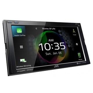 """JVC KW-M855BW 6.8"""" Digital Media Receiver w/ Wireless CarPlay and Wireless Android Auto - Black"""