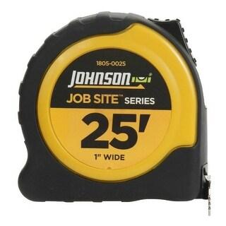"Johnson 1805-0025 JobSite Power Tape Measure, 25' x 1"""