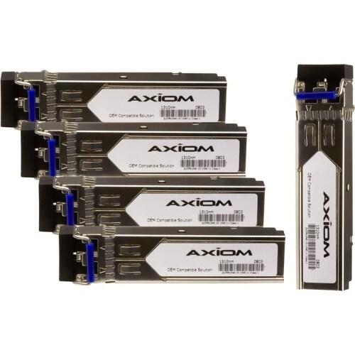 """Axion GLC-LH-SM-5PK Axiom SFP Module - For Data Networking, Optical Network - 1 x 1000Base-LX - Optical Fiber - 128 MB/s"