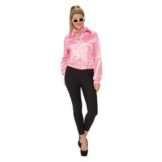 Grease Pink Women's Costume Jacket, Plus Size