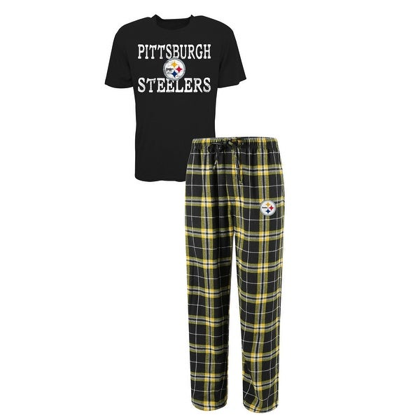39214fa4a Shop Pittsburgh Steelers Duo Men's Sleep Set - Free Shipping On Orders Over  $45 - Overstock - 25582780