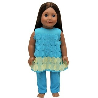 Teal Legging 18 Inch Doll Clothes Outfit