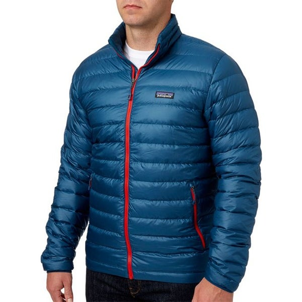 Big Red W: Shop Patagonia Mens Big Sur Blue W Fire Red XXL