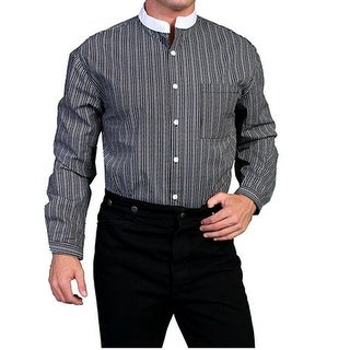 Scully Western Shirt Mens Pinstripe Long Sleeve Button Front RW039