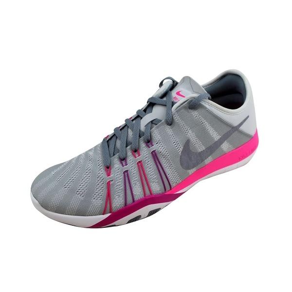 b9ed79aea94e0 Shop Nike Women s Free TR 6 Pure Platinum Stealth 833413-006 - Free ...