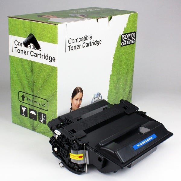 Value Brand replacement for HP 55X CE255X Toner (12,500 Yield)