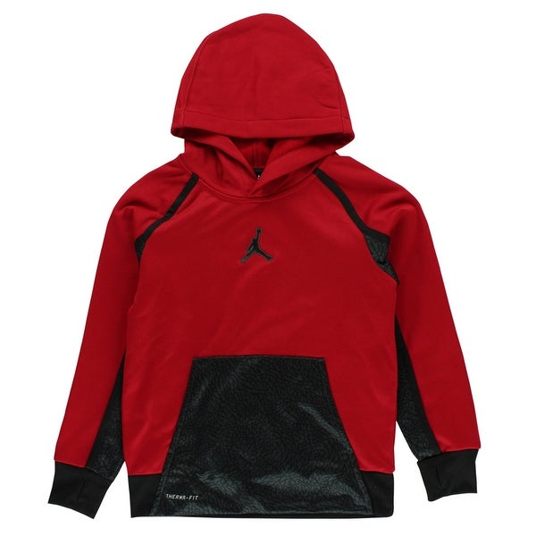 064d411d9a5665 Shop Jordan Boys Elephant Jumpman Hoodie Red - Red Black - S - Free  Shipping Today - Overstock - 22694210
