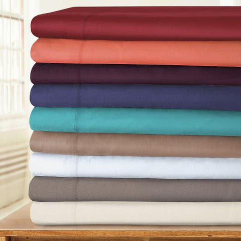 Cotton Blend 800 Thread Count Bed Sheet Set and Pillowcase