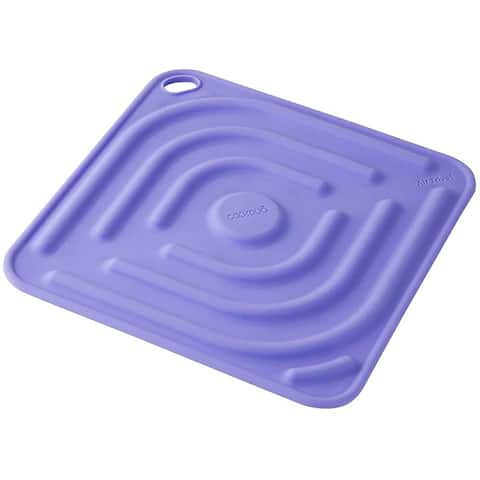 Air Trivet - Silicone trivet and pot holder in Purple