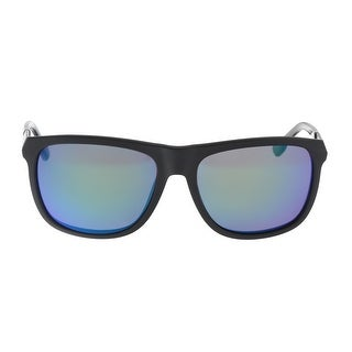 Diesel DL0187 5702x Black Round Sunglasses - 57-17-145