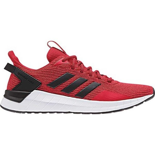 Shop adidas Men s Questar Ride Running Shoe Scarlet Core Black Hi-Res Red -  Free Shipping On Orders Over  45 - Overstock - 25560383 95c95e3f8