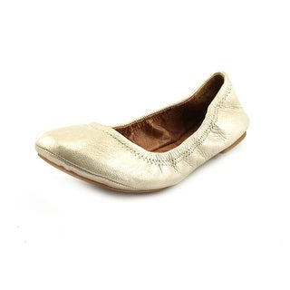 Lucky Brand Emmie Round Toe Canvas Ballet Flats