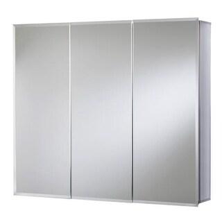 "Jacuzzi PD47000 26"" H x 30"" W x 5-1/4"" D Triple Door Medicine Cabinet"