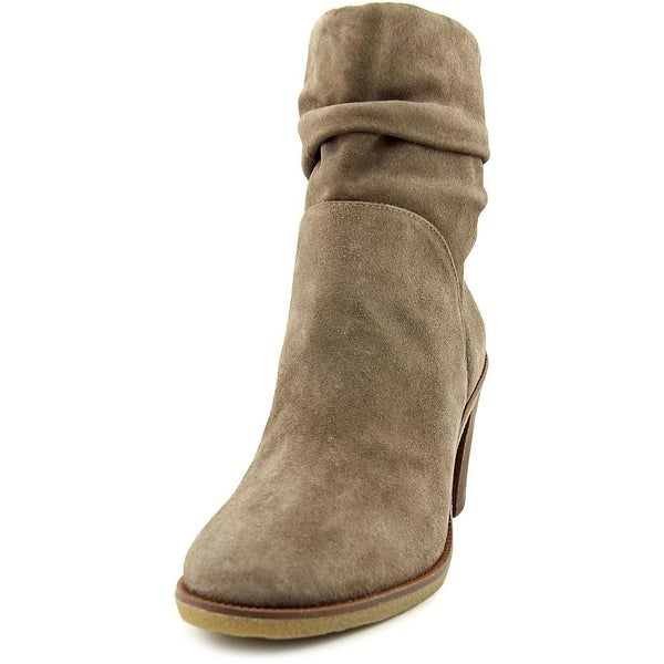 Vince Camuto Parka Women  Round Toe Suede Brown Ankle Boot