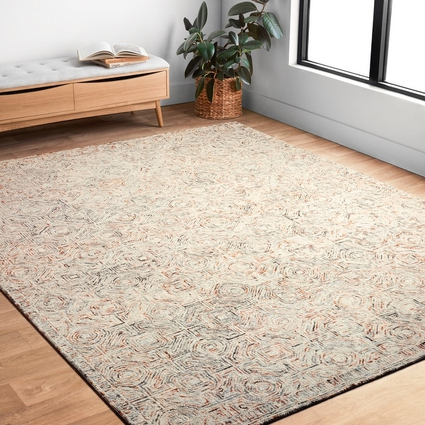 Alexander Home Aspen Rugged Hand-Tufted Contemporary Wool Rug. Opens flyout.