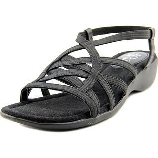 Life Stride Tandie Women Open Toe Canvas Black Sandals|https://ak1.ostkcdn.com/images/products/is/images/direct/dc00863f673eb8dd93b0fc7d226ce0903ef3e45c/Life-Stride-Tandie-Open-Toe-Canvas-Sandals.jpg?impolicy=medium
