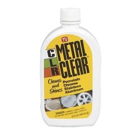 CLR MC-12 Metal Clear Cleaner, 12 Oz