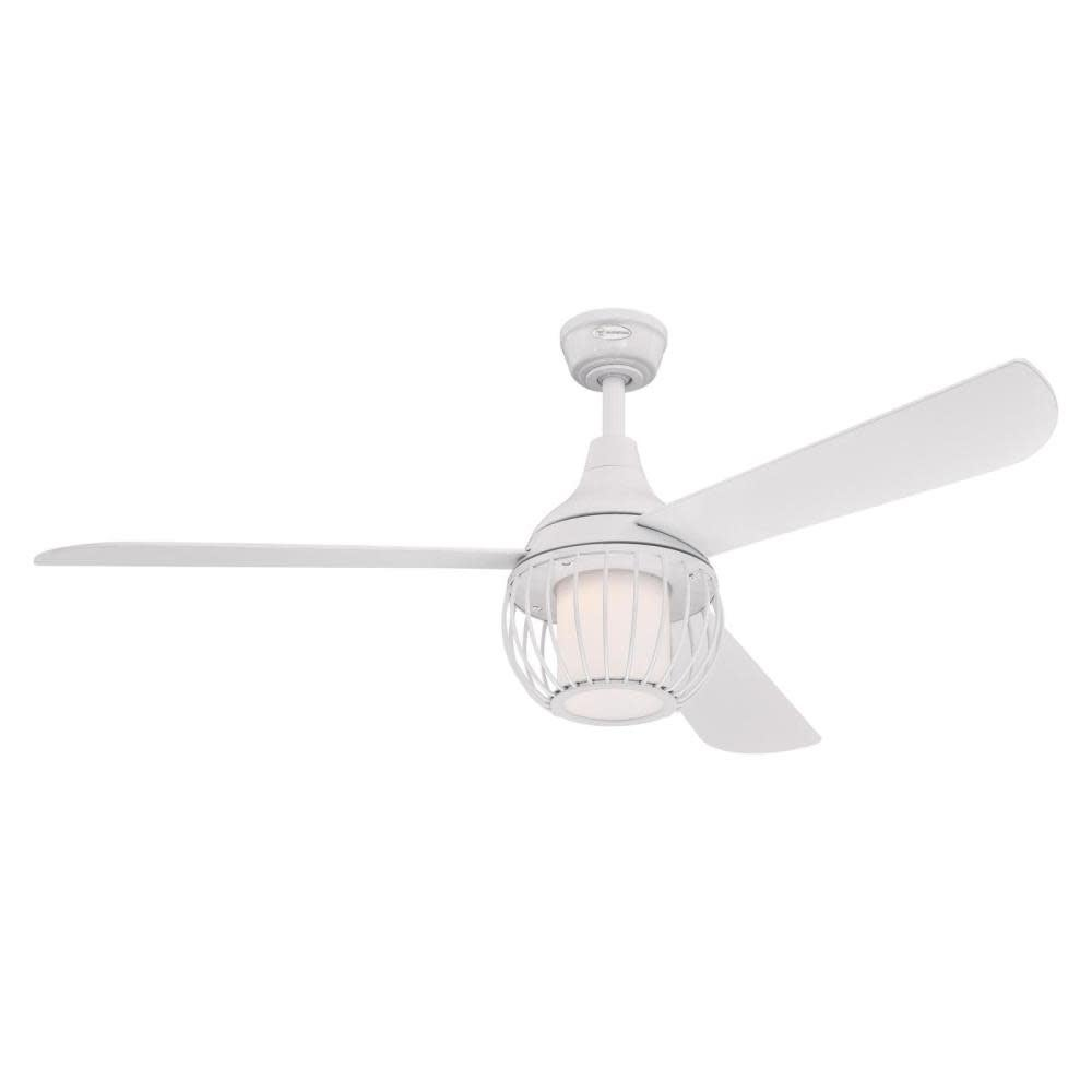 Westinghouse 7220700  Graham 52 3 Blade Indoor Ceiling Fan - Remote Control and LED Light Kit Included