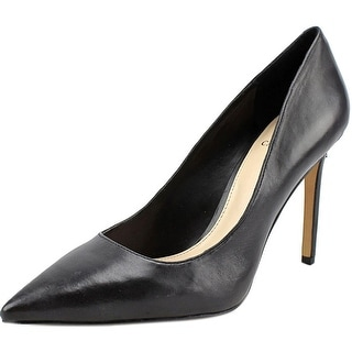 Vince Camuto Nordia Women Pointed Toe Leather Black Heels