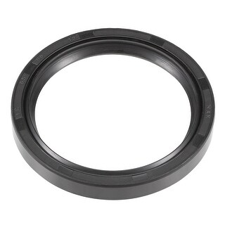 Oil Seal, TC 65mm x 80mm x 10mm, Nitrile Rubber Cover Double Lip - 65mmx80mmx10mm