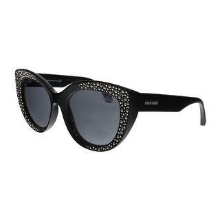 Link to Roberto Cavalli RC1050 01C Chitignano Black Cat Eye Sunglasses - No Size Similar Items in Women's Sunglasses