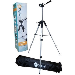 """Tru Digital 57"""" Camera Tripod With Deluxe Tripod Carrying Case For Digital Cameras & Camcorders"""