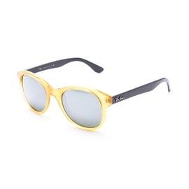 Ray-Ban Circular Sunglasses RB4203 Yellow Grey