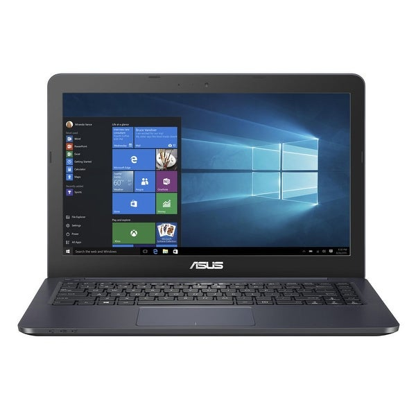 "Manufacturer Refurbished - Asus R417NA-RS01-BL 14"" Laptop Intel Celeron N3350 1.1GHz 4GB 32GB eMMC W10"