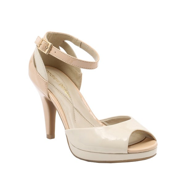 Andrew Geller Carmony Women's Heels BLEACH/NATURAL