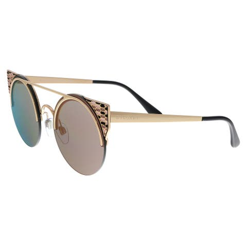 Bulgari BV6088 20144Z Pink Gold Cat Eye Sunglasses - No Size
