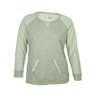 Style & Co Women's Contrast-Sleeve Sweatshirt (2 options available)