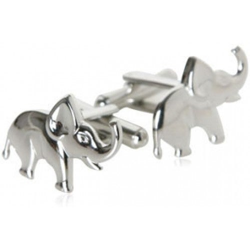 Elephant Animal Africa Safari Good Luck Symbol Veterinarian Zoo Keeper Cufflinks