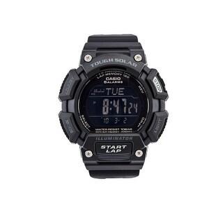 Casio Stls110h-1B2 Quartz Stainless Steel And Resin Sports Watch Black