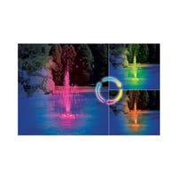 Floating Grecian Three-Tier Color Changing LED Fountain for Swimming Pools