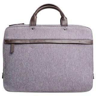 Slim Lightweight Waterproof Briefcase for up to 15-Inch Laptop - Avanti Grey