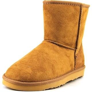 "Lamo 6"" Classic Women Round Toe Synthetic Tan Winter Boot"