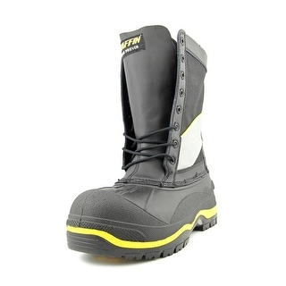 Baffin Constructor Round Toe Leather Snow Boot