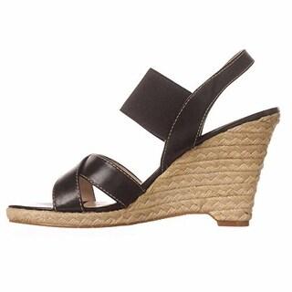 Tahari Kandi Wedge Slingback Sandals
