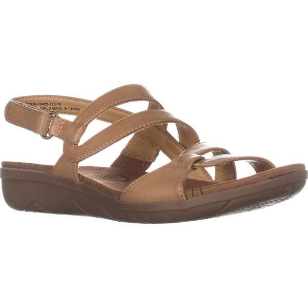 BareTraps Jerie Flat Comfrot Sandals, Caramel