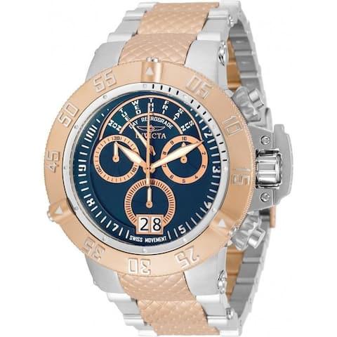 Invicta Men's 31884 'Subaqua' Noma III Stainless Steel Watch - Blue