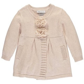 Bonnie Jean Girls 2T-4T Flower Coat