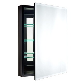 """Miseno MBC3023 Carlentini 30""""H x 23""""W Recessed or Surface Mount Medicine Cabinet with Beveled Mirror - N/A"""