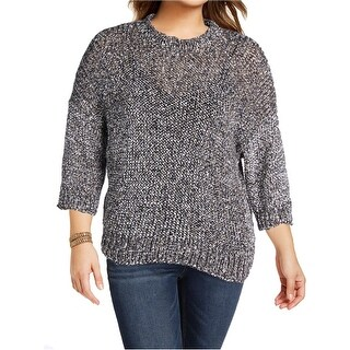 Joseph Womens Pullover Sweater Paper Tweed Knit 3/4 Sleeves (3 options available)