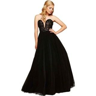 Mac Duggal Womens Embellished Prom Formal Dress - 4