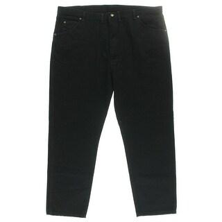 Wrangler Mens Big & Tall Straight Leg Jeans Denim Classic Fit