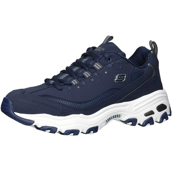 Shop Skechers Men's D'lites Sneaker, Navy, 13 M Us Free