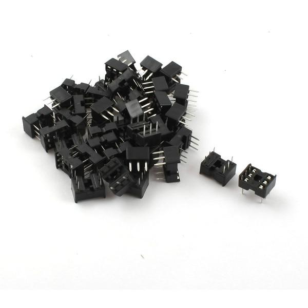 Unique Bargains 40pcs 6Pin 2.54mm DIP IC Sockets Adaptor Solder Type